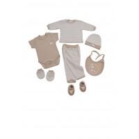 Corredino - kit 7 pz cotone 100%  - maschio - mod. Orsetto